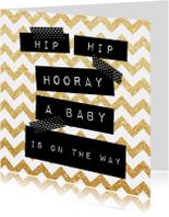 Felicitatiekaart zwangerschap