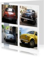 Fiat auto rijbewijs gefeliciteerd