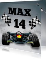 Formule 1 raceauto leeftijd kaart