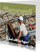 Fotokaart vierkant Topper! - BK