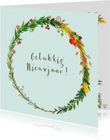 Nieuwjaarskaarten - Four Seasons
