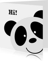 Freundschaftkarte Pandabär