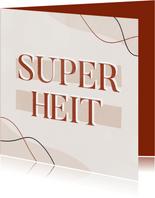 Frysk kaartsje Heitedei
