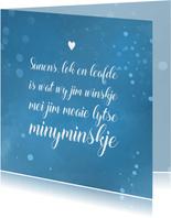 Fryske felicitatie kaart geboorte jongen