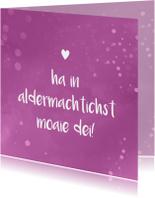 Fryske fleurige sprankelende felicitatiekaart