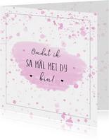 Fryske kaart - omdat ik sa mâl mei dy bin