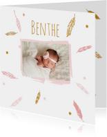 Geboorte foto benthe - B