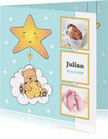 Geboorte jongen beer in wolk IH