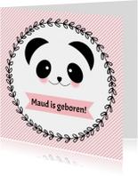 """Geboorte meisje """"Panda""""- WW"""
