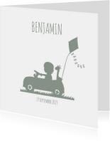 Geboorte Silhouet Benjamin - B