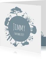 Geboorte silhouet jimmy - B