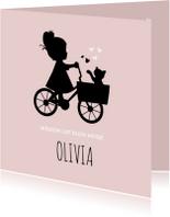 Geboorte silhouet olivia - B