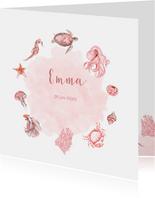 Geboorte zeediertjes meisje