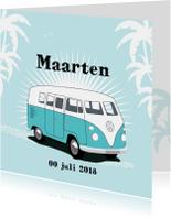 Geboortekaart Volkswagen T1 bus