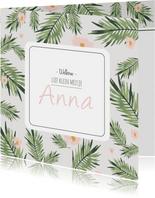 Geboortekaartje Anna - HM