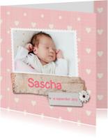Geboortekaartje-bloem-Sascha-SK