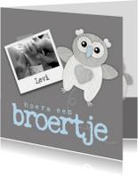 Geboortekaartje Broertje Uiltje