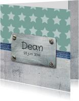 Geboortekaartje Dean
