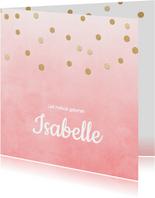Geboortekaartje_Isabelle_SK
