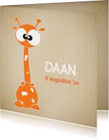 geboortekaartje-jongen-giraffe-leuk