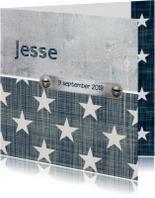 Geboortekaartje jongen Jesse