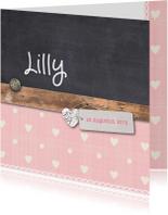 Geboortekaartje-krijt-Lilly-SK