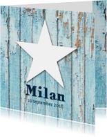 Geboortekaartje Milan