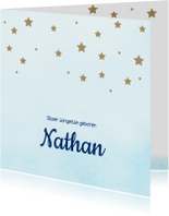Geboortekaartjes - Geboortekaartje Nathan SK