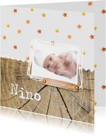 Geboortekaartje_Nino_herfst