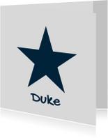 Geboortekaartje-ster-Duke-SK
