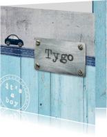Geboortekaartje Tygo