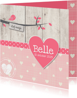 Geboortekaartje-vogel-Belle-SK