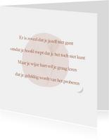 Gedichtkaart proberen