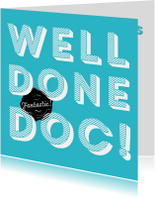 Gefeliciteerd met je promotie Doctor, well done!
