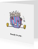 Gefeliciteerd zwanger ready to pop kaart