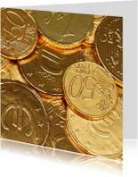 Geld - money - Euro munten Sinterklaas OT