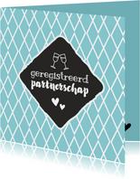 Geregistreerd partnerschap - retro