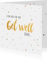 Get well soon... beterschapskaart