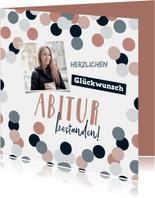 Glückwunschkarte Abitur mit Foto