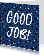 Glückwunschkarte 'Good Job'