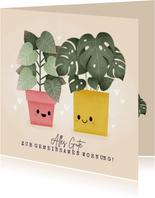 Glückwunschkarte zum Einzug gemeinsame Wohnung