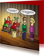 Kerstkaarten - Grappige kerstkaart Kerstomaatjes