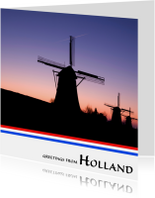 Greetings from Holland VII
