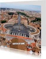 Groeten uit Rome,  Sint-Pieter