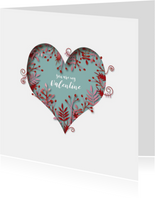 Valentijnskaarten - Groot Hart Valentijn
