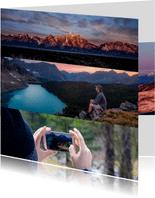 Grußkarte Quadrat Fotos