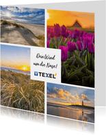 Grußkarte Urlaub auf Texel