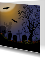 Halloween kerkhof