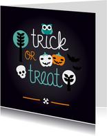Halloween verjaardag uitnodiging