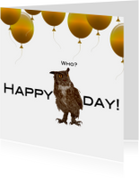Happy bird day to you